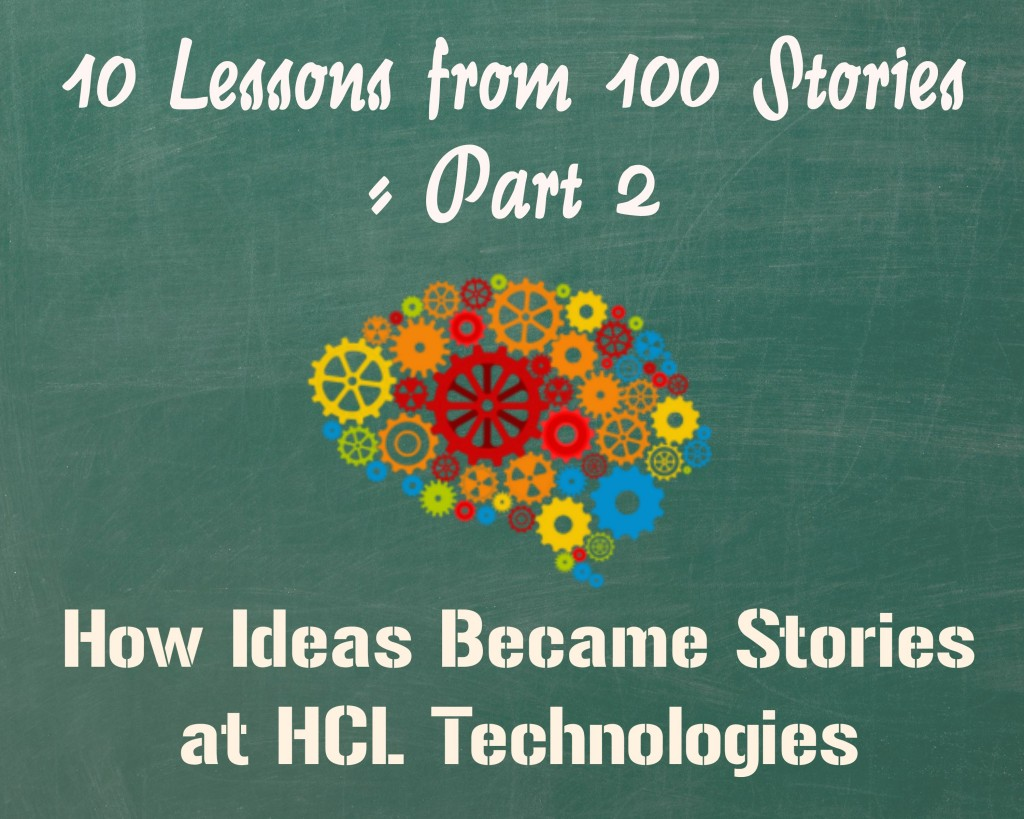 10 Lessons from 100 Stories - 2