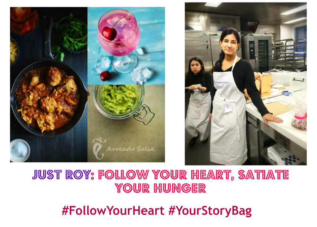 """Follow Your Heart, Satiate  Your Hunger"""