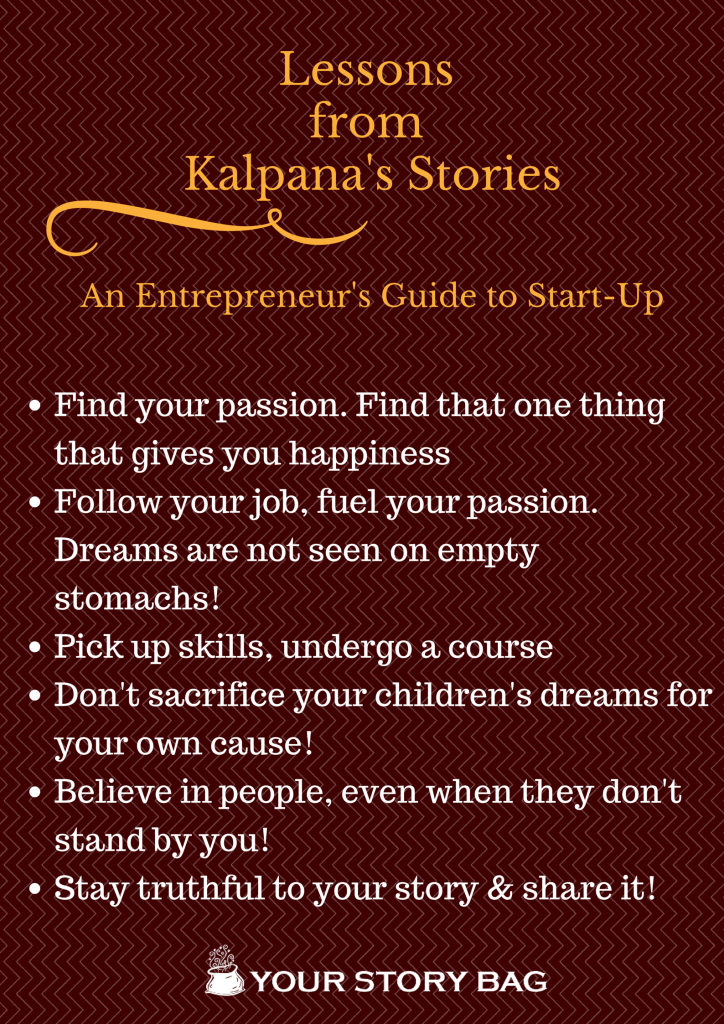 Here is why we love Kalpana's Stories