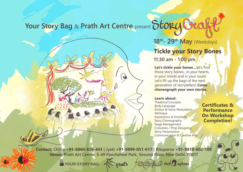 Tickle Your Story Bones - Story Craft Summer