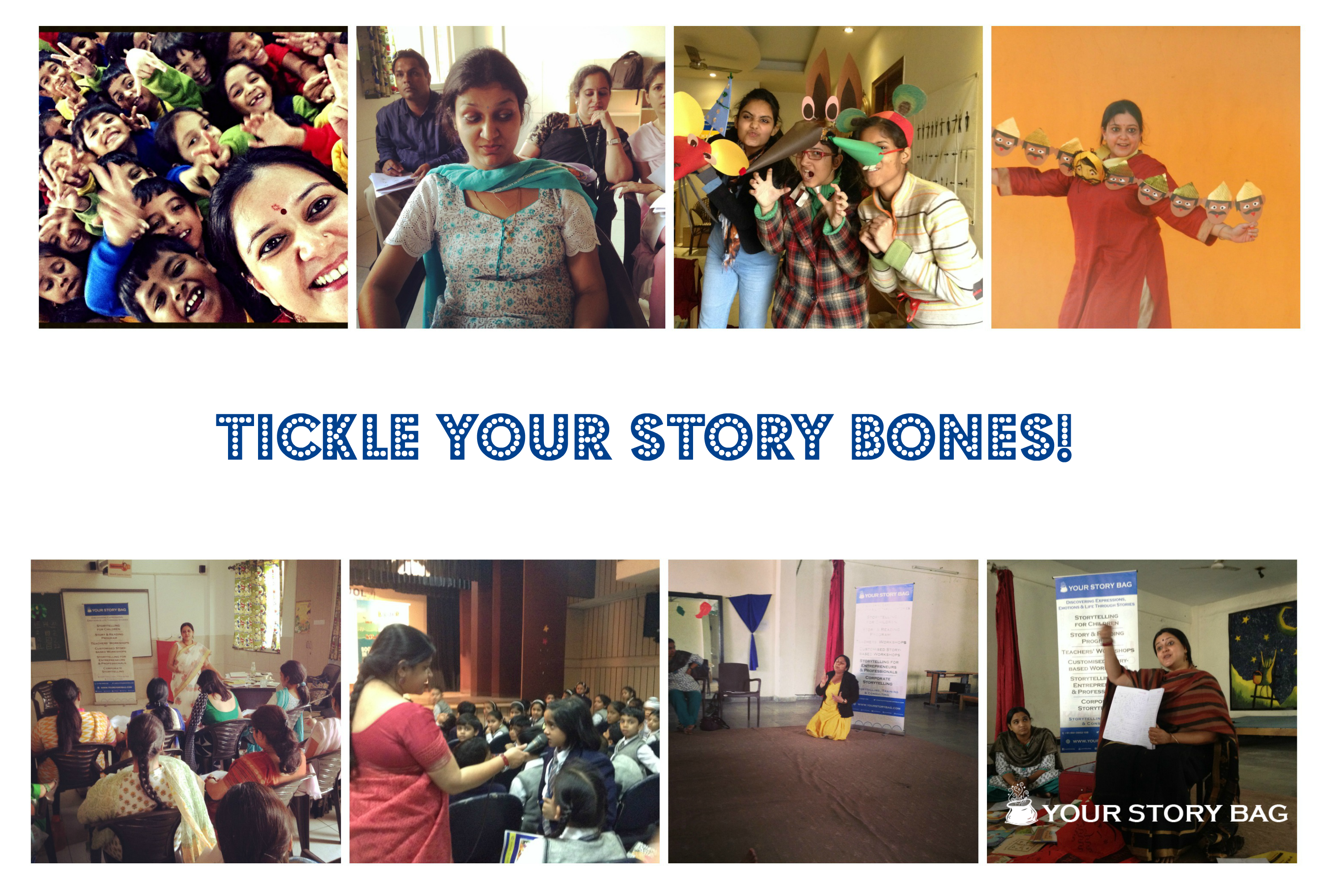 Tickle Your Story Bones - Storytelling Workshop  Discovered your Story Bone yet?